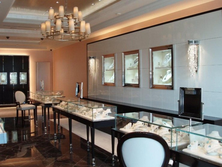 Tristan Harstan Interior Design Commercial Jewelry Retail
